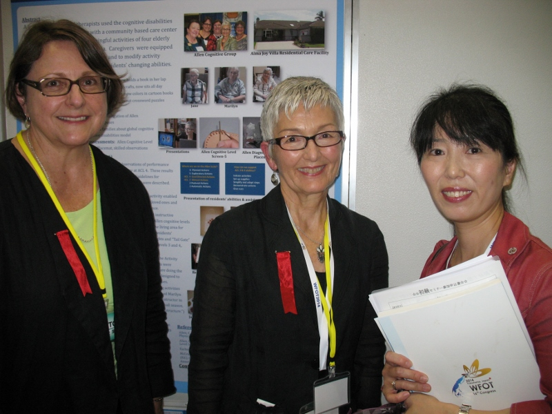 6-Linda, Cathy, & translator WFOT 2012 Yokohama, Japan (800x600)