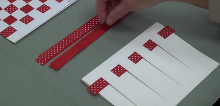 Ribbon Card Assessment How to Make a Sample Pattern A